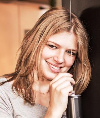 Samantha Wilhelm, Floristmeisterin und Referentin des Grünberger Bildungszentrum für Floristik